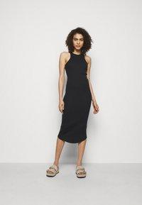 rag & bone - THE ESSENTIAL TANK DRESS - Maxi dress - black - 0