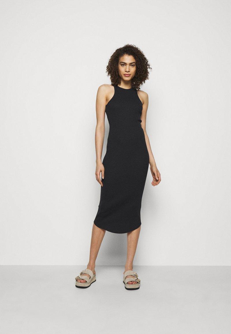 rag & bone - THE ESSENTIAL TANK DRESS - Maxi dress - black