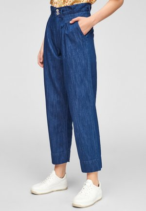 Relaxed fit jeans - faded blue