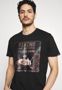 Alpha Industries - T-shirt print - black - 4