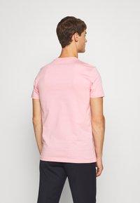 PS Paul Smith - SLIM FIT ZEBRA UNISEX - Print T-shirt - pink - 2