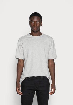 ESSENTIAL OVERSIZED CREW NECK - Basic T-shirt - grey marl