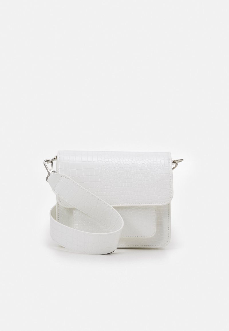 HVISK - CAYMAN POCKET - Olkalaukku - white