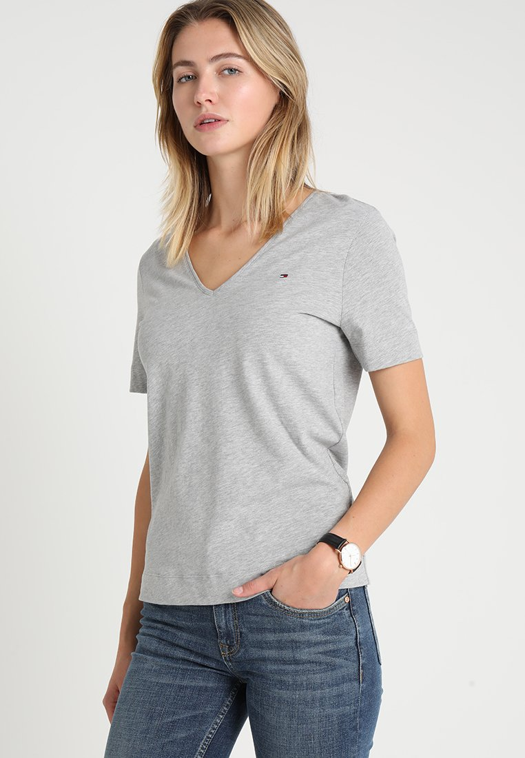 Tommy Hilfiger - LUCY  - Basic T-shirt - grey