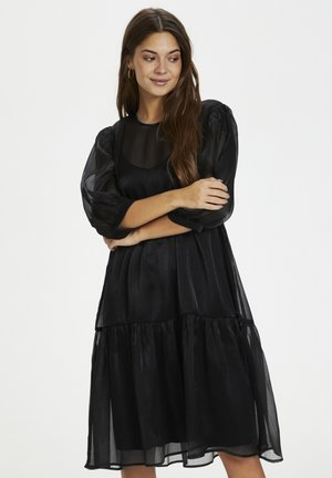 KAMILA - Day dress - black deep