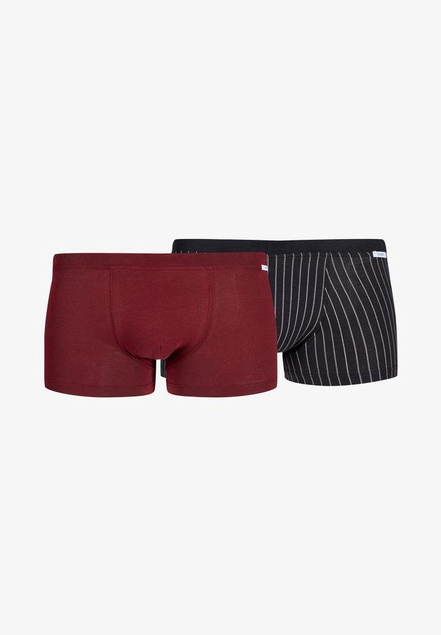 2ER-PACK - Boxer shorts - dark red mix