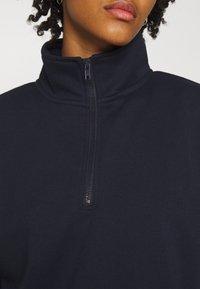 Vero Moda - VMNATALIE HIGHNECK ZIP  - Sweatshirt - night sky - 4