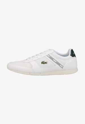 Sneakers - wht dk grn