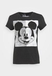 MINNIE FACE  - T-shirt con stampa - dark grey