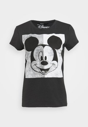 MINNIE FACE  - Print T-shirt - dark grey