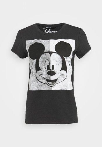 MINNIE FACE  - Print T-shirt - dark grey