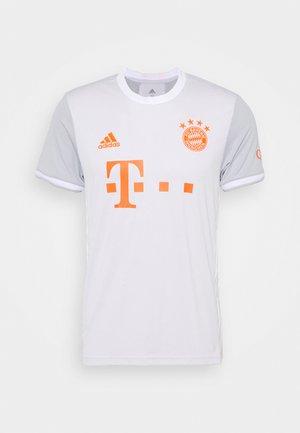 FC BAYERN MUENCHEN AEROREADY FOOTBALL  - Klubtrøjer - grey/white