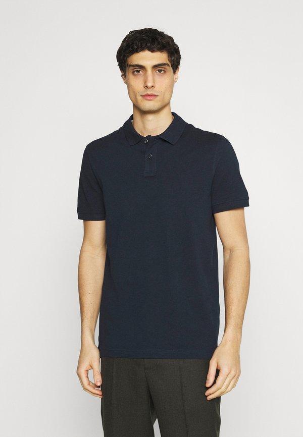 Pier One 2 PACK - Koszulka polo - dark blue/pink/granatowy Odzież Męska LKDQ