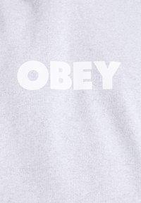 Obey Clothing - BOLD IDEALS SUSTAINABLE HOOD - Sweatshirt - ash grey - 5