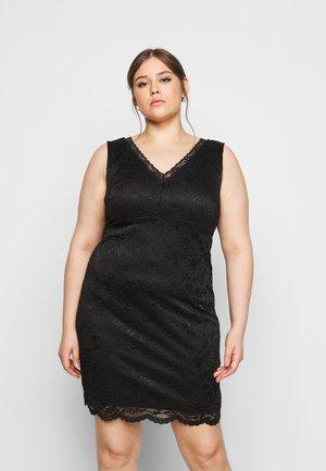 VMJANNE DRESS - Shift dress - black