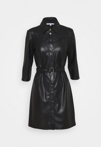 Patrizia Pepe - ABITO DRESS  - Shirt dress - nero - 7