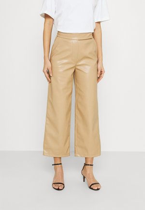 VIVIEN - Trousers - beige
