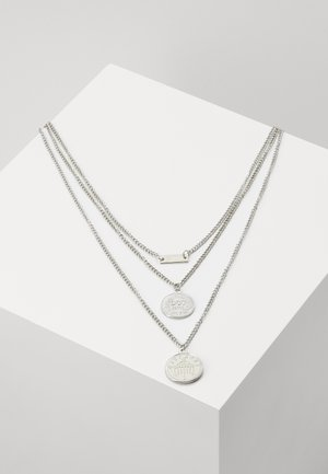 LAYERING NECKLACE AMANDA - Smykke - silver-coloured