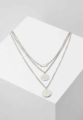 LAYERING NECKLACE AMANDA - Necklace - silver-coloured