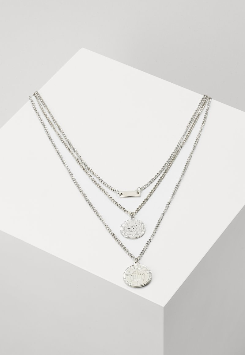 Urban Classics - LAYERING NECKLACE AMANDA - Necklace - silver-coloured
