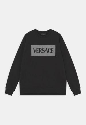 LOGO UNISEX - Sweatshirt - nero/grigio