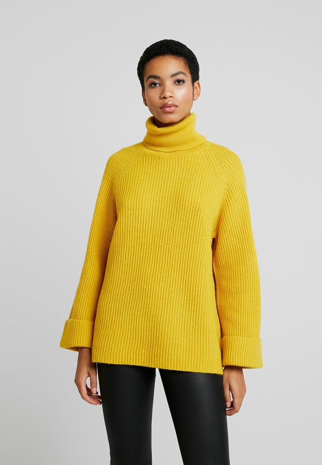 SLFSAGA ROLLNECK  - Maglione - lemon curry