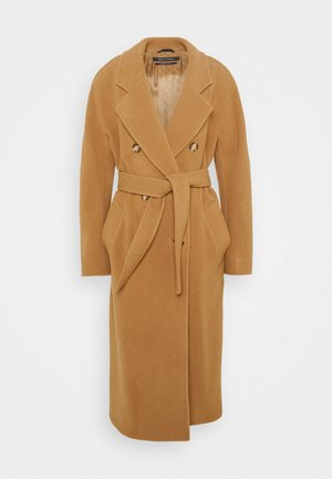 COAT WELT POCKETS - Classic coat - true camel