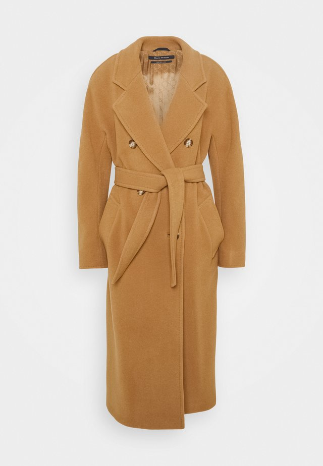 COAT WELT POCKETS - Classic coat - true camel