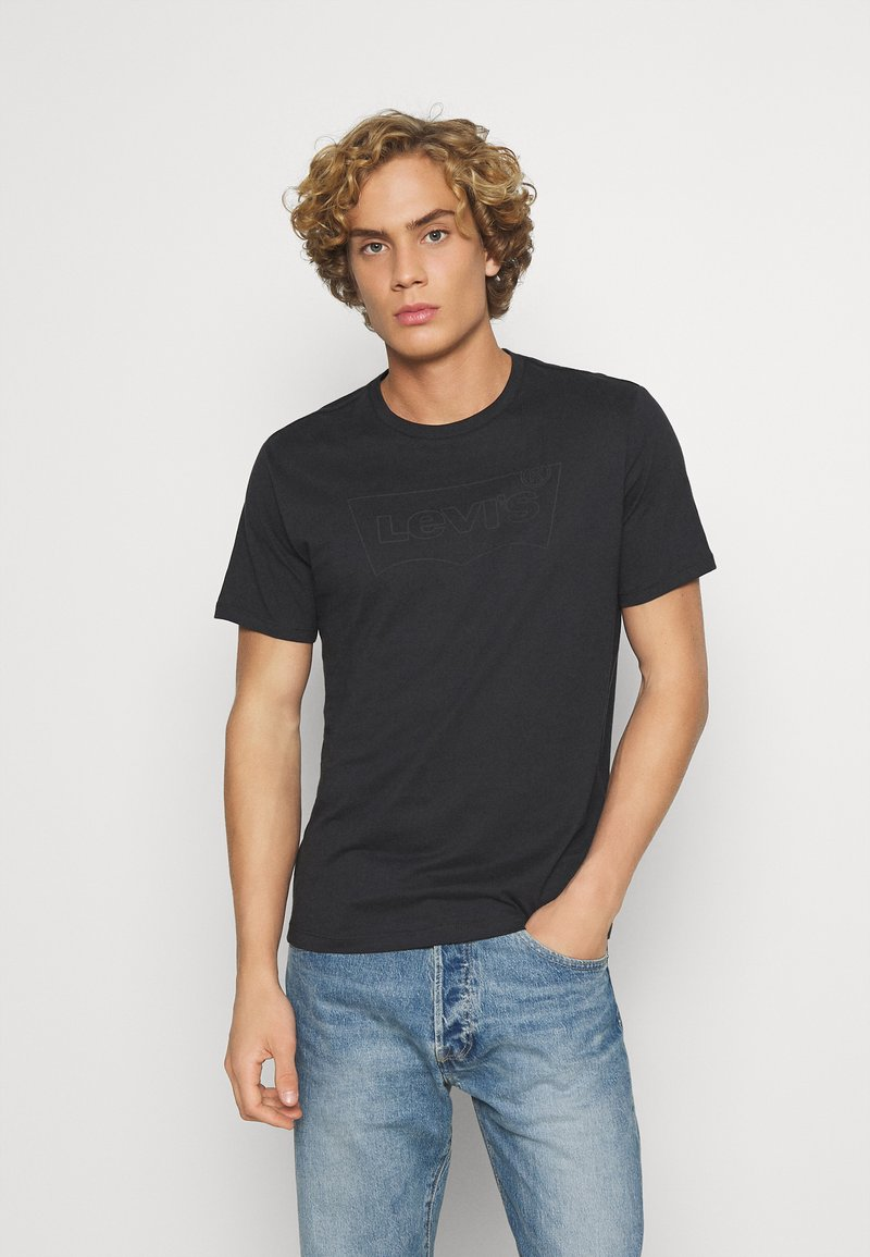 Levi's® - HOUSEMARK GRAPHIC TEE UNISEX - T-shirt con stampa - blacks