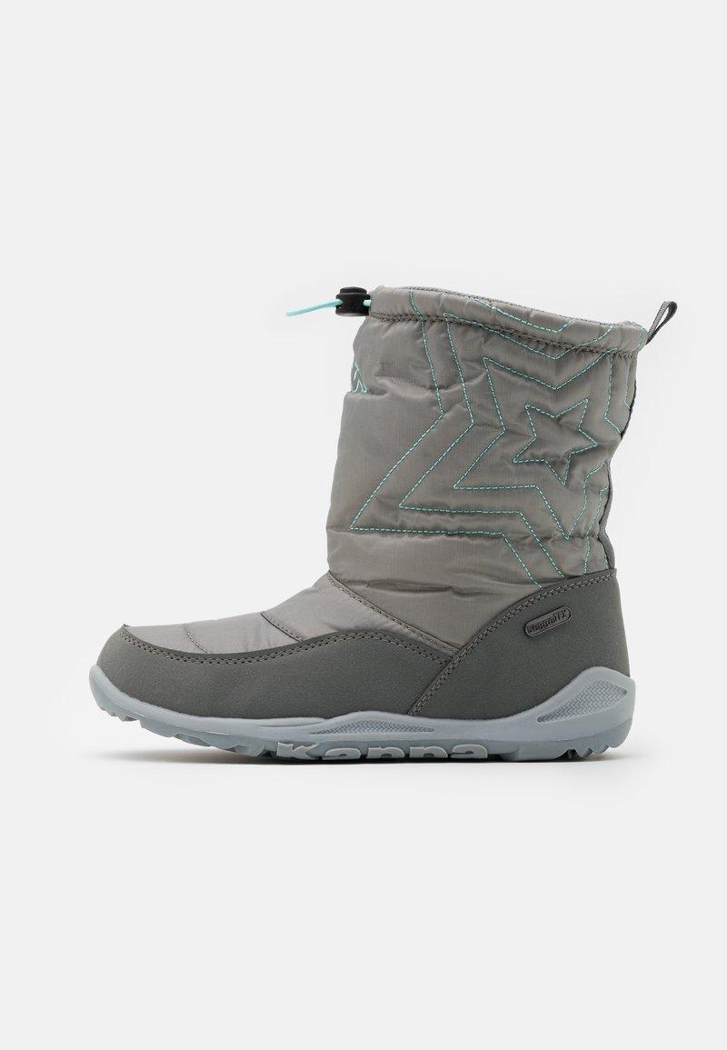Kappa - CESSY TEX UNISEX - Winter boots - grey/mint