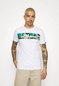 Ellesse - MORELA - Print T-shirt - white - 0