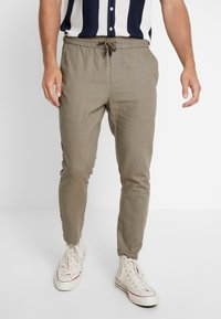 Only & Sons - ONSLINUS CROP  - Trousers - fallen rock - 0