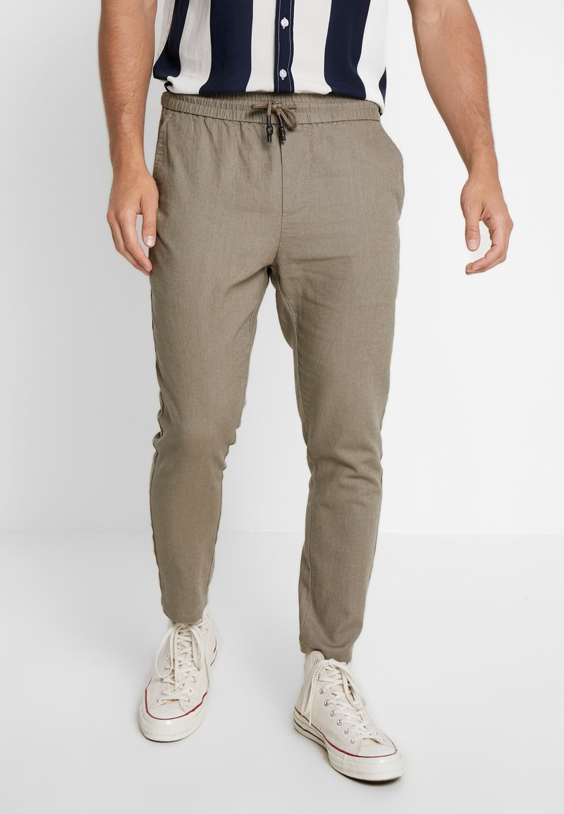Only & Sons - ONSLINUS CROP  - Trousers - fallen rock