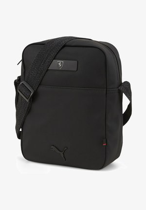 SCUDERIA FERRARI STYLE  - Across body bag - black