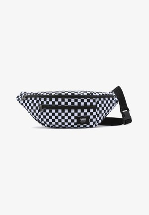 UA WARD CROSS BODY PACK - Vyölaukku - black/white check