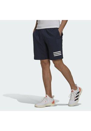 CLUB 3-STRIPES TENNIS AEROREADY PRIMEGREEN SHORTS - Sports shorts - legend ink/white