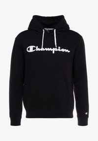Champion - HOODED - Mikina s kapucí - black - 4