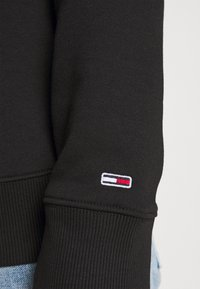 Tommy Jeans - LINEAR LOGO CREW - Sweatshirt - black - 3