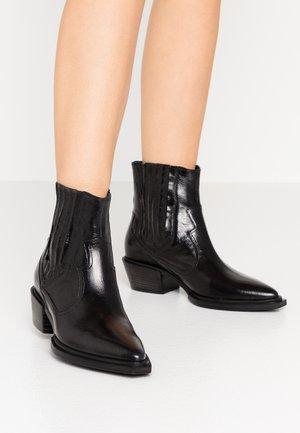IVA - Cowboy/biker ankle boot - schwarz