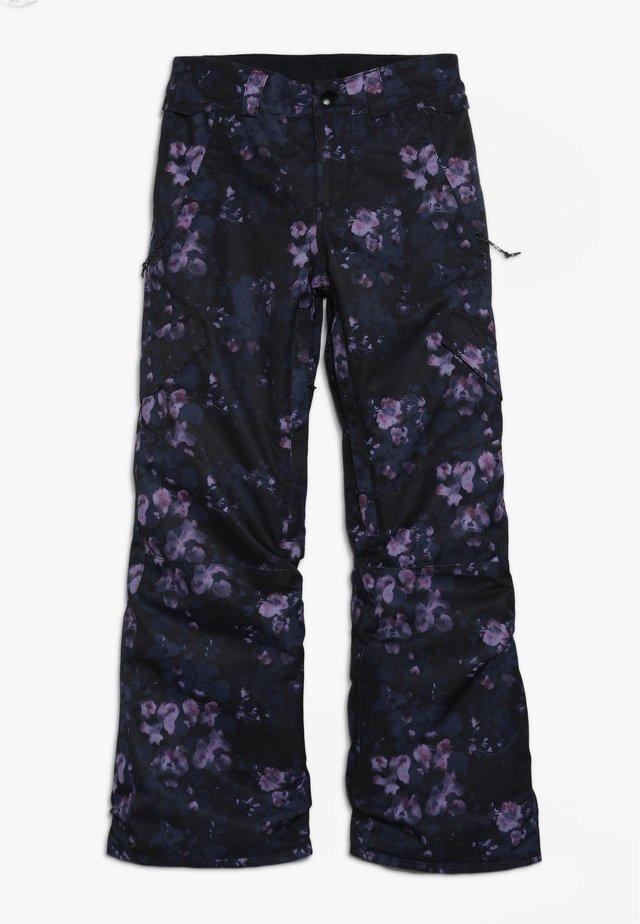 SILVER PINE PANT - Spodnie narciarskie - black