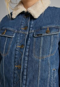 Lee - SHERPA RIDER - Denim jacket - vintage danny - 4
