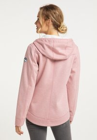 Schmuddelwedda - Zip-up hoodie - rosa melange - 2