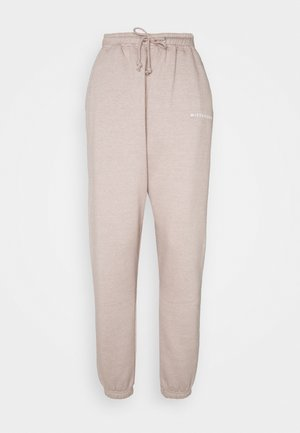OVERSIZED JOGGER - Tracksuit bottoms - grey