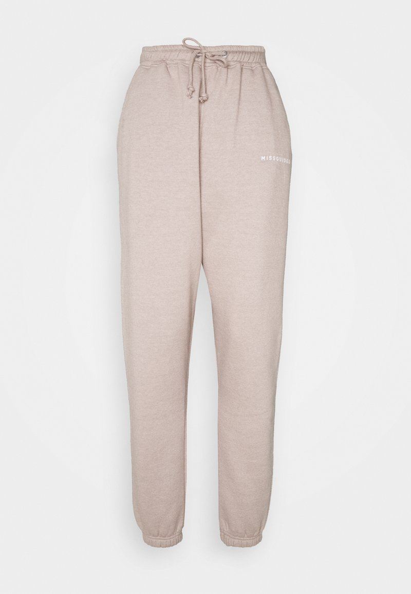 Missguided Tall - OVERSIZED JOGGER - Tracksuit bottoms - grey