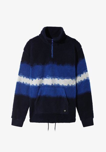 MN COZY SHERPA QZP - Sweatshirt - victoria blue