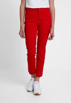SLOAN SOLIDS - Chinos - ultra red