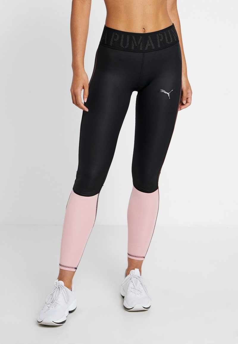 Puma - SHIFT - Tights - black/bridal rose