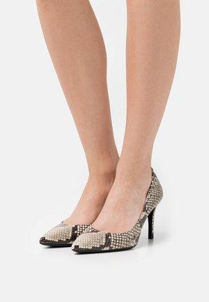 ALESIYA - Classic heels - natural