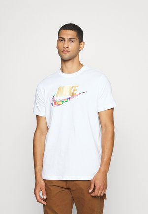 TEE PREHEAT  - Camiseta estampada - white
