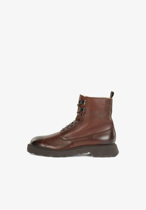 GLADWIN_HALB_GRF - Lace-up ankle boots - dark brown
